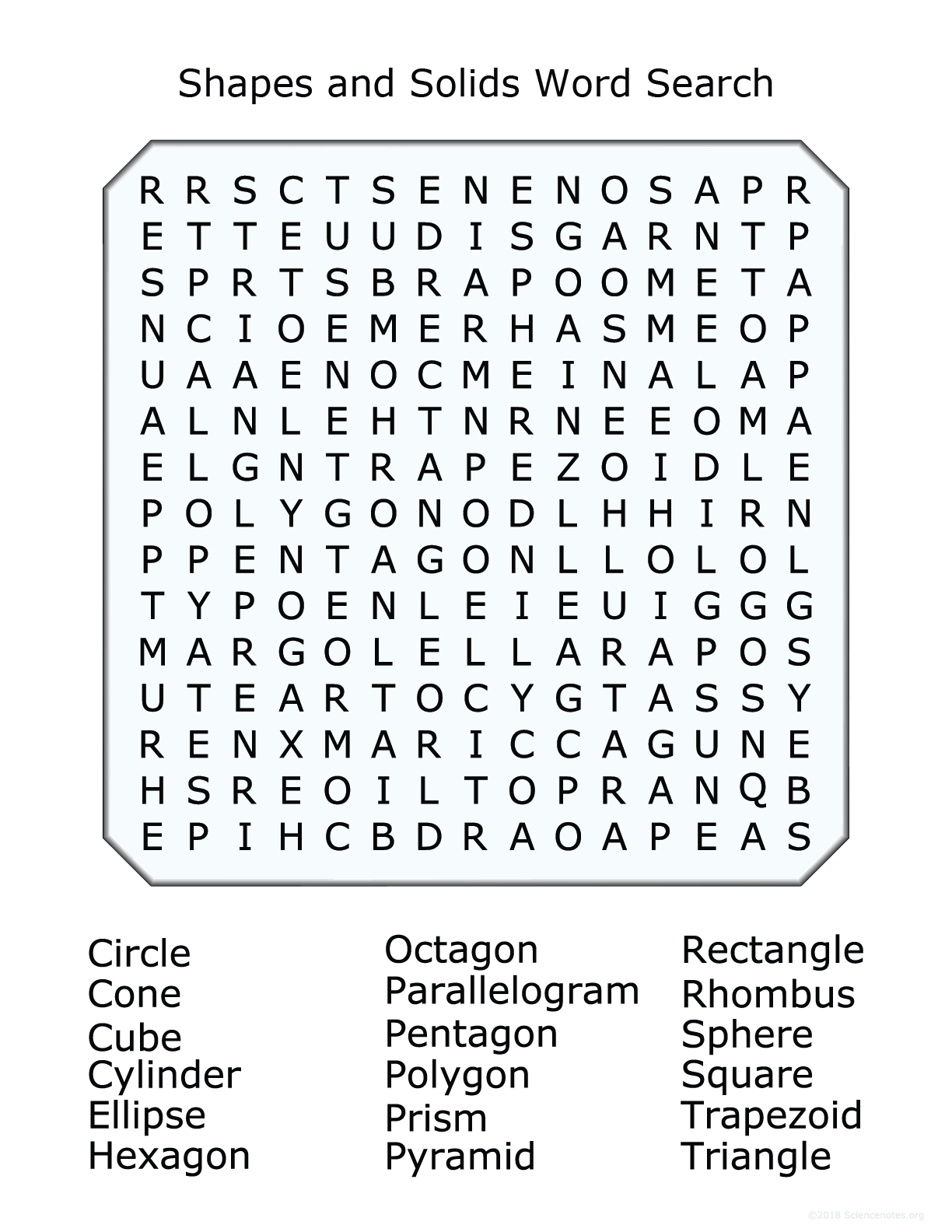 Regular Verbs Wordsearch Past Tense Form