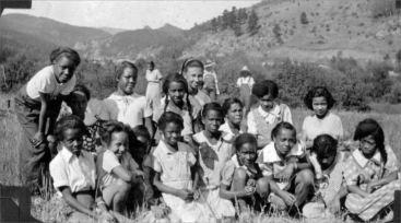 Girls at Camp Nizhoni