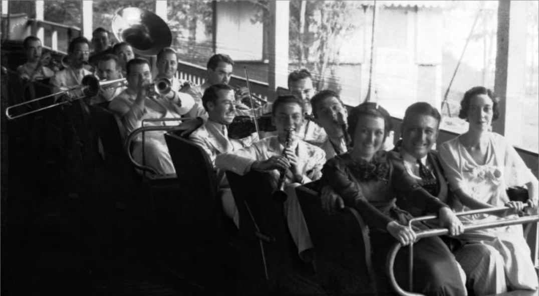 Orchestra on Roller Coaster