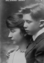 Margaret Sanger and Son