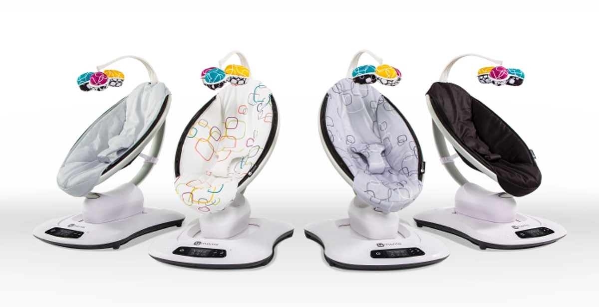 Product Review: 4Moms MamaRoo Baby Swing