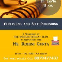 Publishing and self publishing workshop