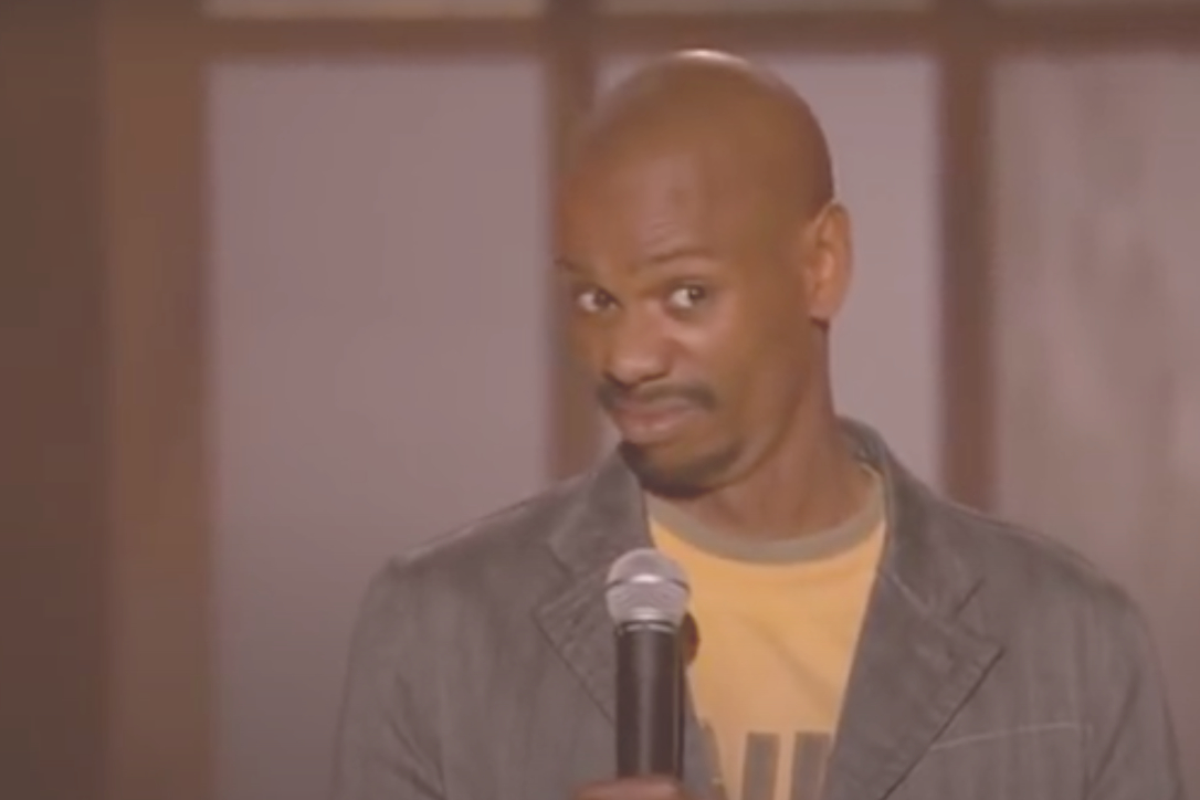 "Dave Chappelle in ""For What It's Worth"""