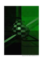 Green Cubes 3D