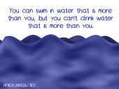 WATER MORE THAN YOU