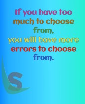 Choose from
