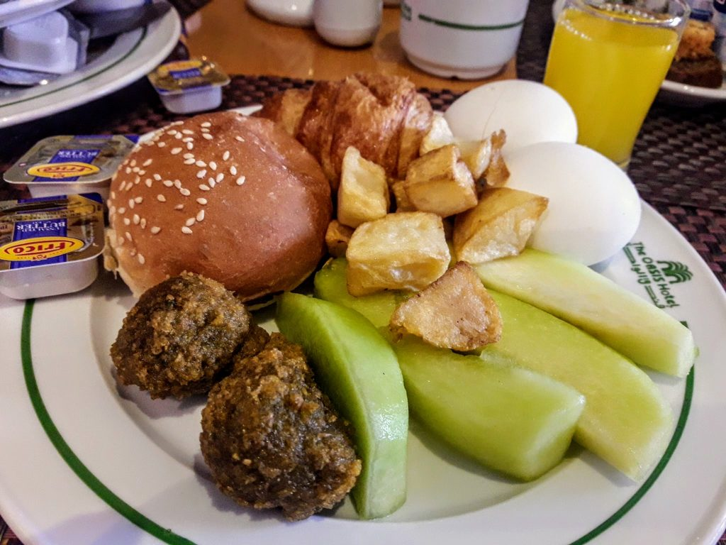 Falafel in Egypt