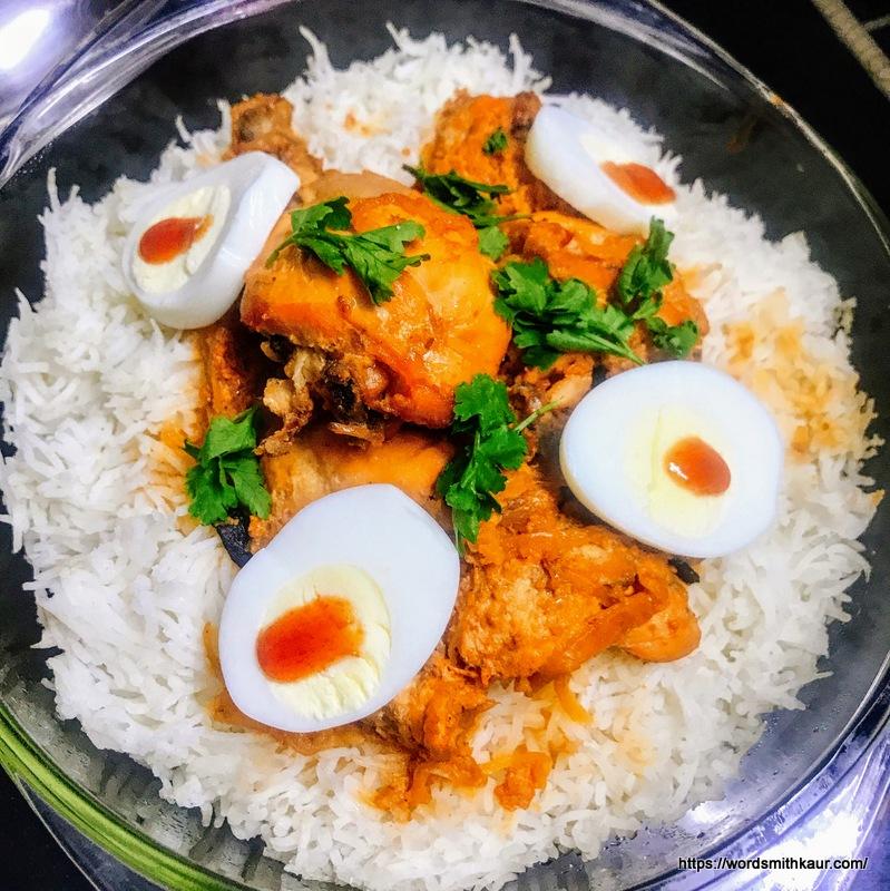 Baked Chicken Biryani Recipe