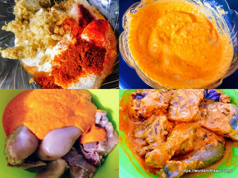 Marinade for Baked Chicken Biryani Recipe