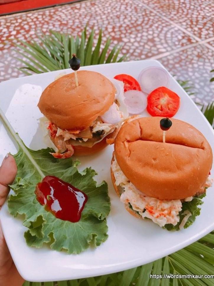 Spicy Mushroom Burger recipe