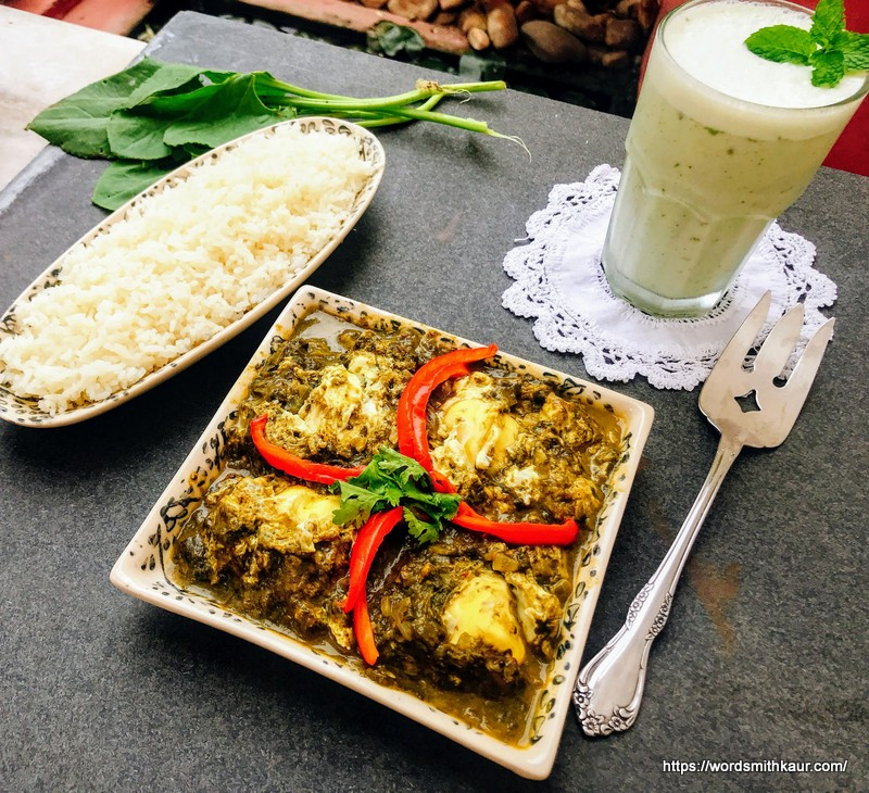 Tangy Chukkakura Shakshuka Recipe