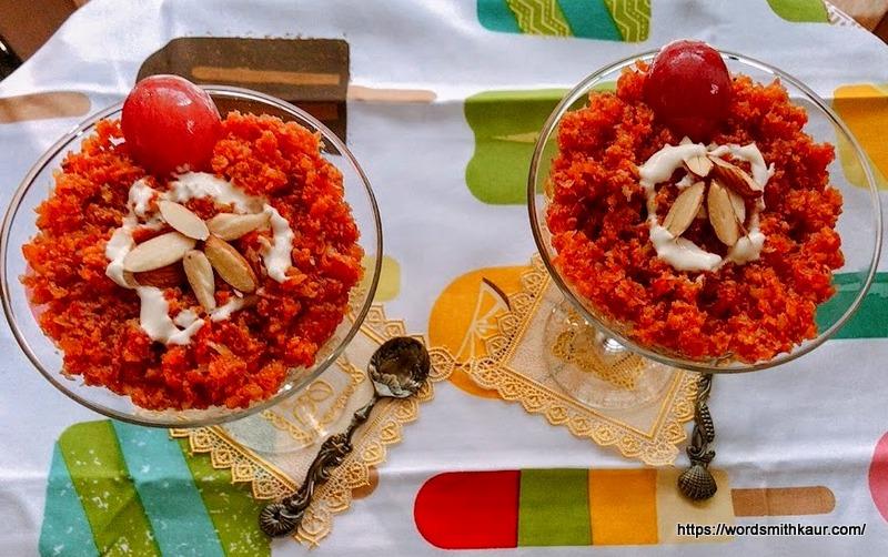 Gajar ka Halwa in Slow Cooker | Carrot Pudding