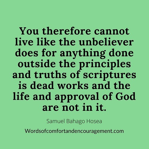 Words of comfort and encouragement Doing the Right Thing by the Word of God quote