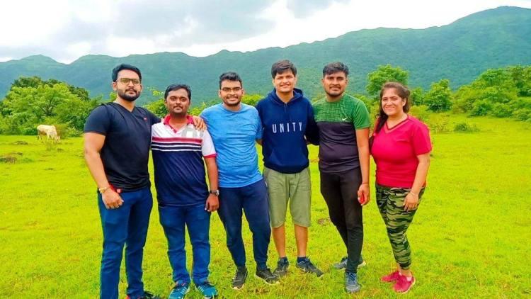 The Rajgad Trek group photo