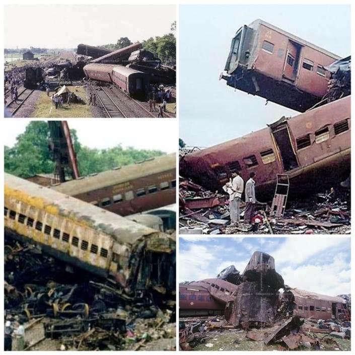 अवध_असम_एक्सप्रेस Accident pictures