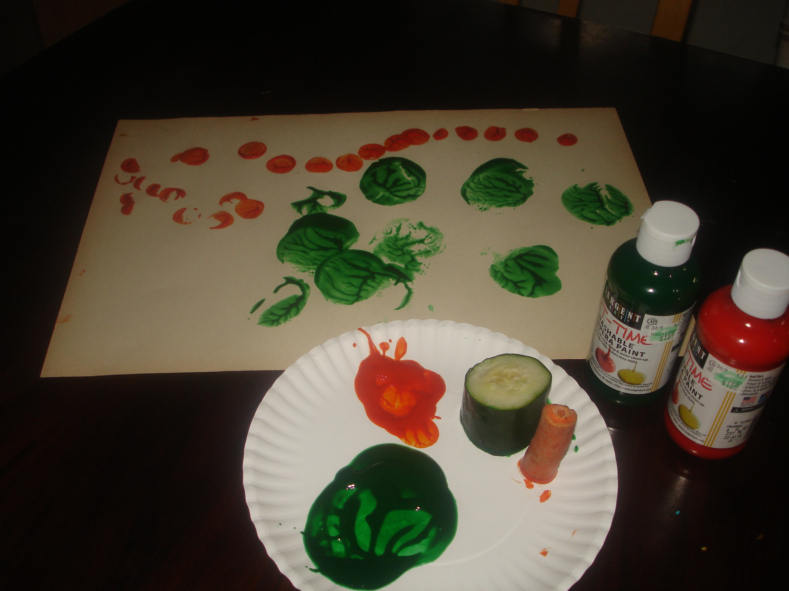 Playing With Our Food Another Letter C Activity