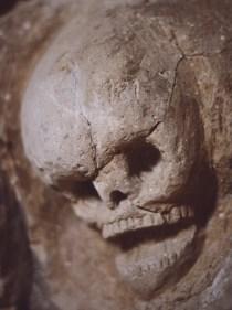 erin j bernard, skull carving, perquin, el salvador