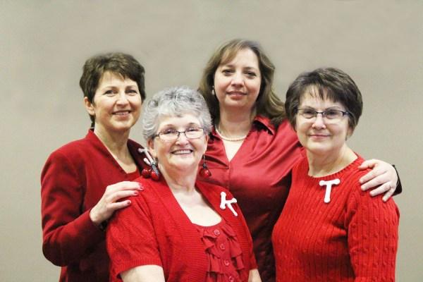 Wordsowers Leadership Team: Jeanie Jacobson, Kat Crawford, Pebbles Jacobo, Teresa Tierney