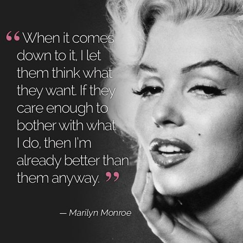 Monroe quotes marilyn love