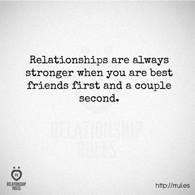 Friends first before relationship