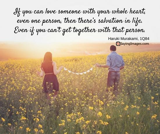 haruki murakami quotes love