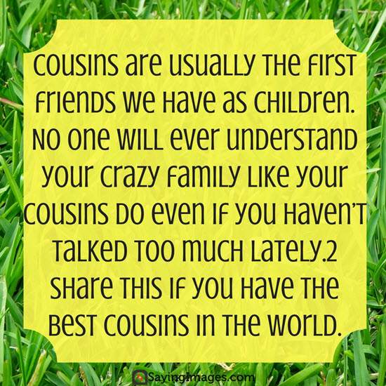 my cousin quotes