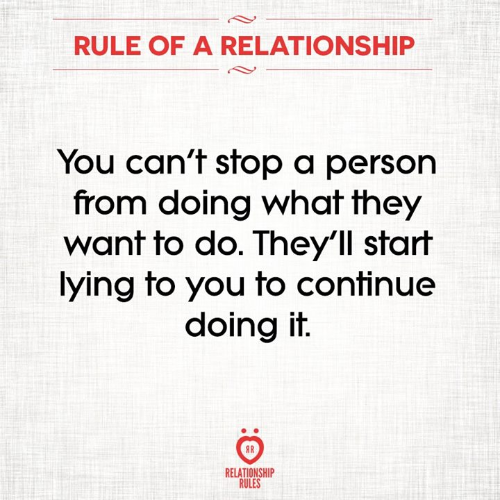 What lying does to a relationship