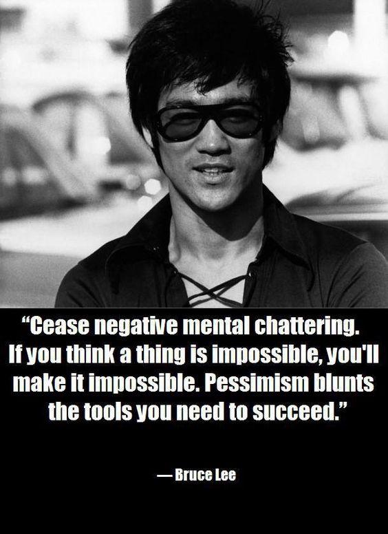 negative mental chattering