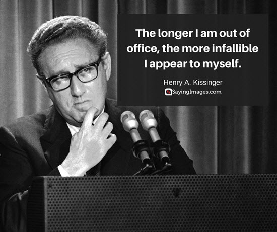 quote from henry kissinger