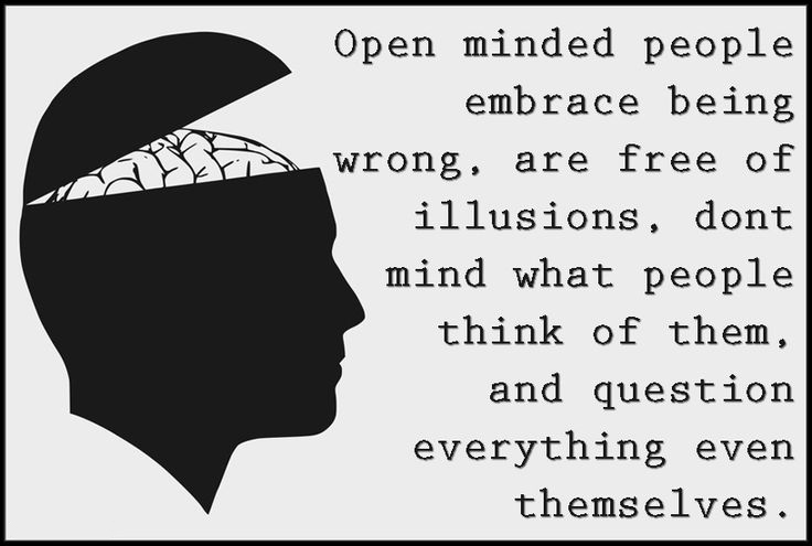 Open Minded Quotes Stunning Open Minded People Word Porn Quotes Love Quotes Life Quotes