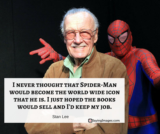 stan lee quotes spiderman