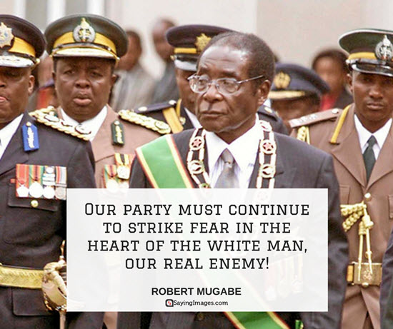 quotes from mugabe