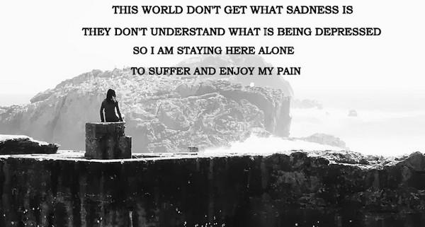 Sad Alone Quotes Images