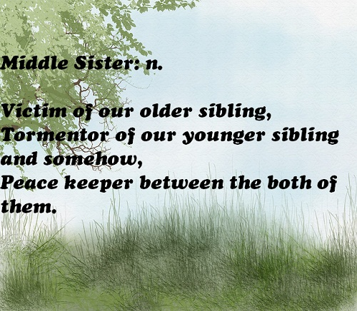 Middle Sister Quotes