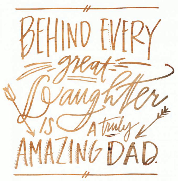 28 Cute & Short Father Daughter Quotes with Images - Word ...