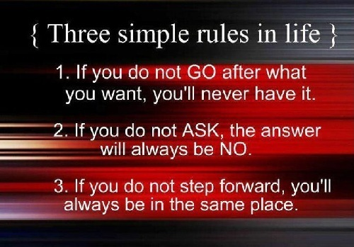 Simple Rules Lovely Quotes