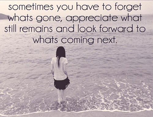 Look Forward Lovely Quotes