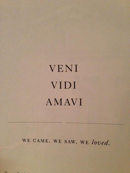 Veni Vedi Amavi Amazing Quotes