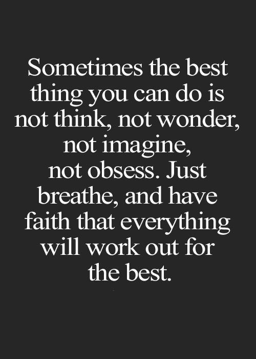 Work Out for the Best Amazing Quotes