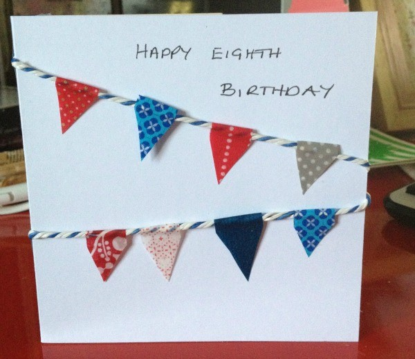 Homemade Birthday Card Ideas For Kids