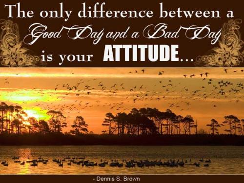 Motivational Best Quotes About Attitude