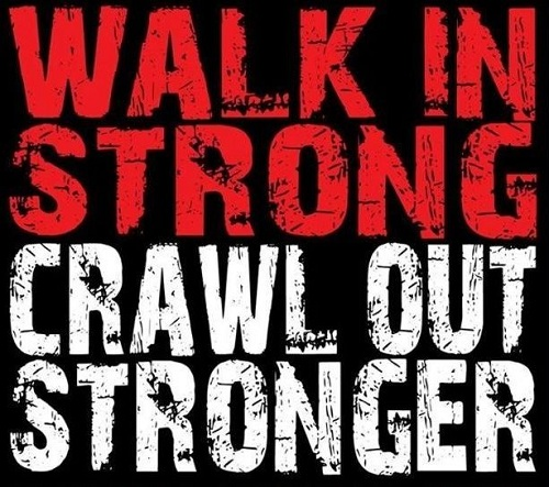 Walk in Strong Gym Quotes