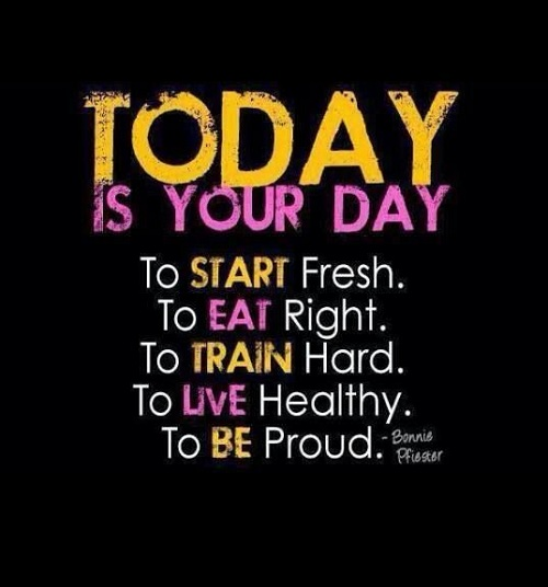 Today is your Day Gym Quotes
