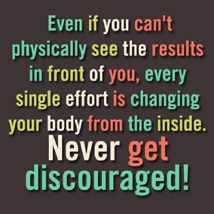 Discouraged Gym Quotes