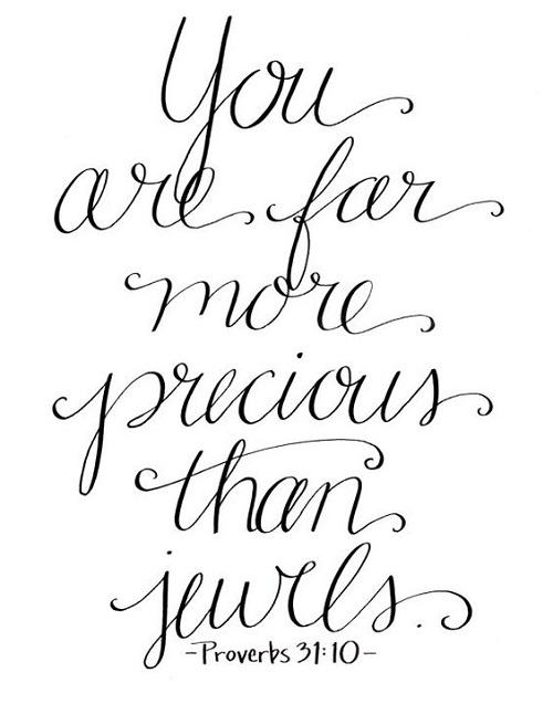 Precious than Jewels Mother Quotes
