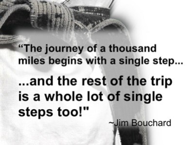 the journey of a thousand miles begins with a single step new years quot