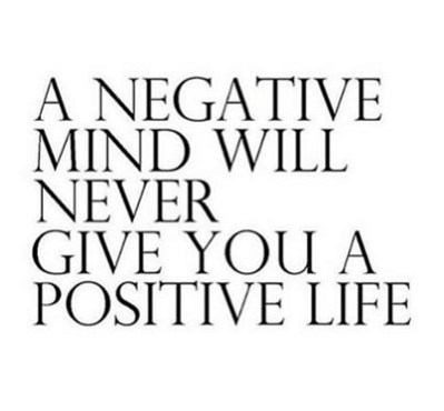 a negative mind will never give you a positive life enjoy life new year quotes