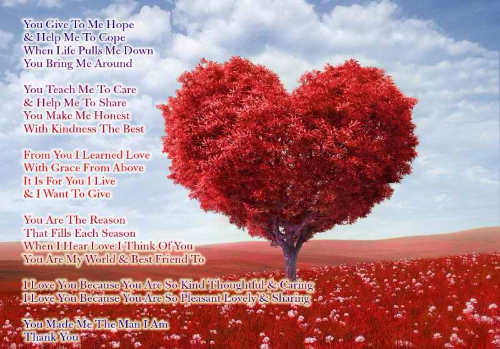 Sweet Love Poems for Him From Her