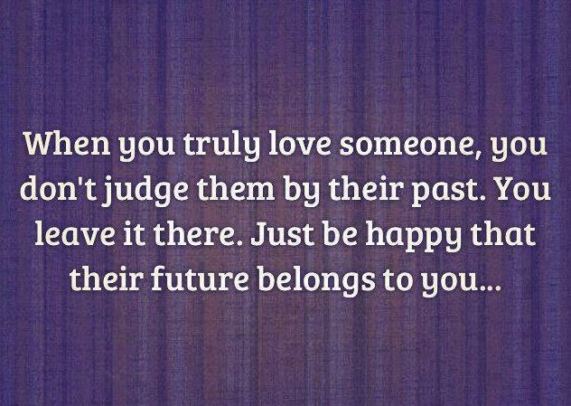 Truly love someone when you