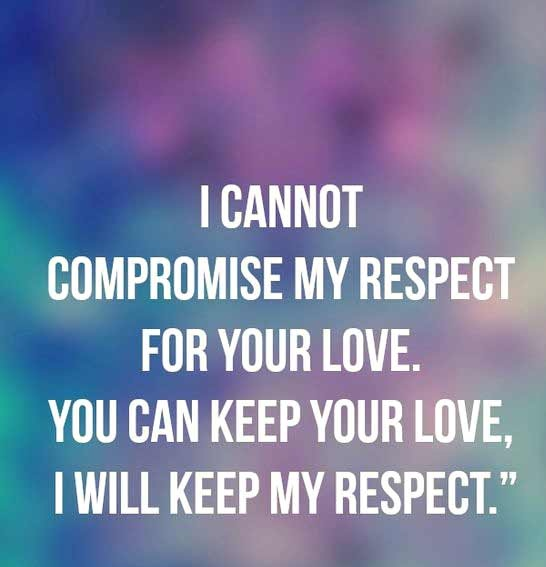 Love And Respect Quotes Alluring 56 Best Respect Quotes With Images You  Must See Word Quotes